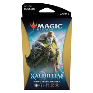 Picture of Kaldheim Theme Booster Yellow - Magic The Gathering