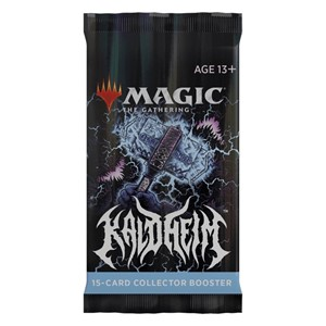 Picture of Kaldheim Collector Booster Pack Magic The Gathering