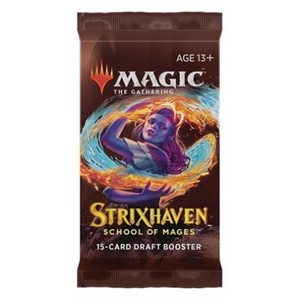 Picture of Strixhaven School of Mages Draft Booster Pack Magic The Gathering