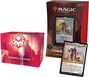 Picture of Strixhaven School of Mages Commander Deck Lorehold Legacies
