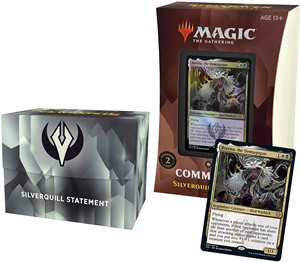 Picture of Strixhaven School of Mages Commander Deck Silverquill Statement