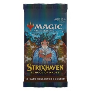 Picture of Strixhaven School of Mages Collector Booster Pack Magic The Gathering
