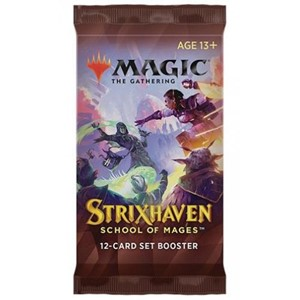Picture of Strixhaven School of Mages Set Booster Pack Magic The Gathering