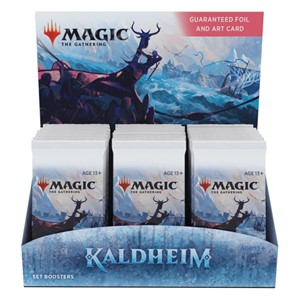 Picture of Kaldheim Set Booster Display (30 packs) Magic The Gathering