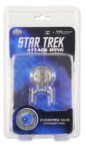 Picture of USS Enterprise NX-01 Star Trek Attack Wing